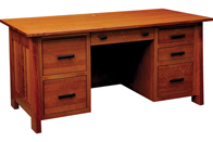 "Freemont Mission 32"" File Desk"