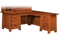 """Freemont Mission 66"""" Corner Desk"""