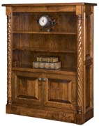 Kincaid Bookcase with Bottom Doors