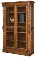 Kincaid Bookcase with Full Length Glass Doors