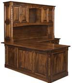 Kincaid Corner Desk with Hutch