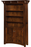 Manitoba Bookcase with Door