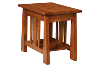 """Open Freemont Mission 18"""" End Table"""