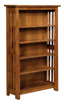 Open Freemont Mission Bookcase