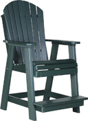 Adirondack Poly Vinyl Balcony Chair