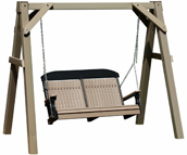 Poly Vinyl Clay A-Frame Swing Stand
