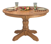 McKenzie Single Pedestal Dining Table