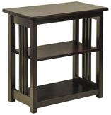 Mission Landmark End Table w/ 1 Fixed Shelf