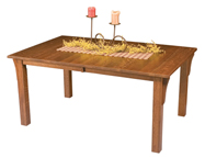 Mission Leg Dining Table