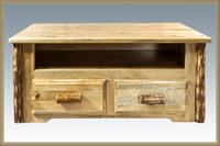 Glacier Country 2 Drawer Coffee Table