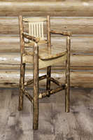 Glacier Country Captain's Barstool