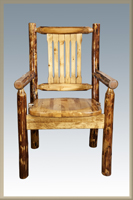 Glacier Country Captain's Chair