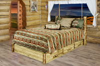 Glacier Country Platform Bed with Storage