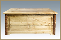 Glacier Country Small Blanket Chest