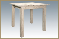 Homestead Counter Height Square 4 Post Dining Table