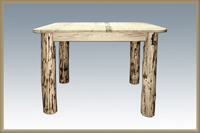 Montana Counter Height Square 4 Post Dining Table