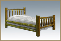 Glacier Country Log Bed