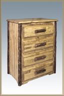 Glacier Country 4 Drawer Dresser