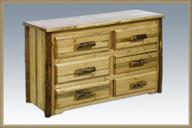 Glacier Country 6 Drawer Dresser