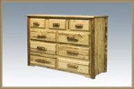 Glacier Country 9 Drawer Dresser