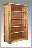 Glacier Country Bookcase
