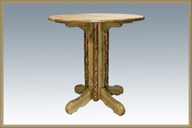 Glacier Country Center Pedestal Table