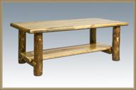 Glacier Country Coffee Table w/ Shelf