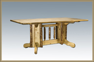 Glacier Country Double Pedestal Table