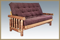 Glacier Country Futon Frame with Mattress