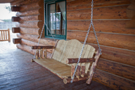 Glacier Country Porch Swing