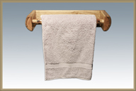 Glacier Country Towel Rack