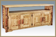 Glacier Country TV Stand