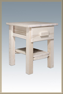 Homestead 1 Drawer Nightstand