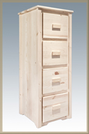 Homestead 4 Drawer Filing Cabinet