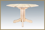 Homestead Center Pedestal Table