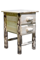 Montana 2 Drawer Nightstand