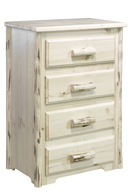 Montana  4 Drawer Dresser