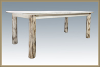 Montana 4 Post Dining Table with Leaves