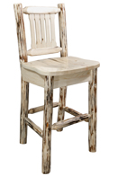 Montana Bar Stool with Back