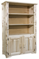 Montana Bookcase with 2 Doors  Storage