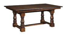 NW Homestead Trestle Dining Table