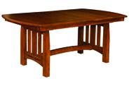 Boulder Creek Trestle Dining Table