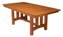 Country Shaker Trestle Dining Table