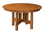 Round Modesto Pedestal Dining Table