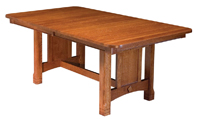 West Lake Trestle Dining Table