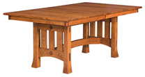 Olde Century Mission Trestle Dining Table