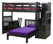 1720 Bunk Bed with Desk & Chair