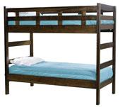 #1820 Hammond End Ladder Bunk Bed