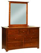 Monterey Mirror Dresser