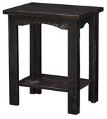 Rough Cut Maplewood Chairside Table